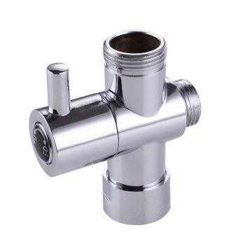 Adaptador de agua de grifo de latón con desviador de tres vías