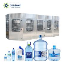 Machine de remplissage automatique de bouteilles d'eau en plastique