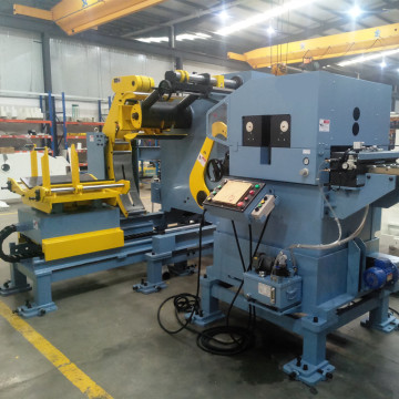 Power Press Nc Servo Feeder Uncoiler Enderezadora