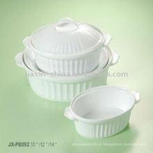 Conjunto de assar de porcelana JXPB-001