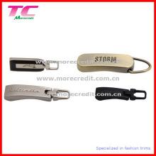 Kundenspezifische Logo Metall Zipper Pull