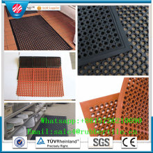 Drainage Rubber Mat Anti Fatigue Kitchen Rubber Matting