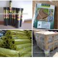 Couverture de couleur verte / tapis de mauvaises herbes / tissu de paysage / tissu de géotextile