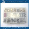Kits de Fixação Arruela de Parafuso Caixa DIY