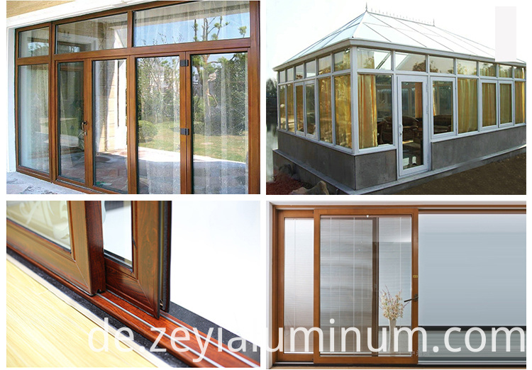 Aluminium Profile Of Sliding Door Details
