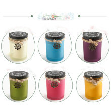 High Quality Soy Wax Aroma Candle in Pillar Gift Boxes