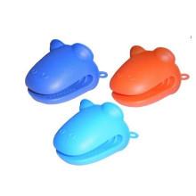 Formas animales resistentes al calor Guantes de horno de silicona (SE-049)