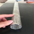 Geschweißte quadratische Loch-Spirale perforiertes Metallrohr