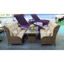 Стул и стол Новый дизайн Плетеная мебель Уличная мебель Bp-888