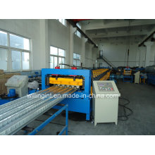 Machine de formage de rouleaux de panneaux de pont de stockage en acier CE
