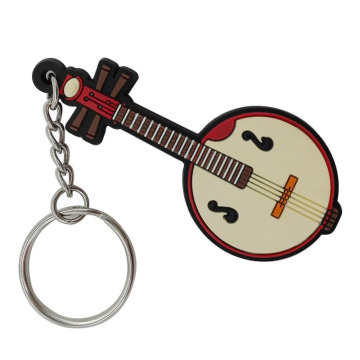 Music Themed Novelty PVC Music Chaveiros