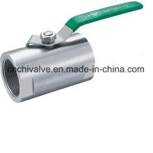Нержавеющая сталь 1PC Бар запасной шаровой клапан