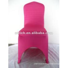 Couverture de chaise de lycra 220gsm rose fuchsia/chaud, CTS911, apte à tous les fauteuils, mariage, banquet, couverture de chaise d'hôtel, châssis et table tissu