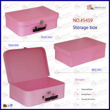 Pink Cute Small Mini Design Your Own Suitcase (5459)