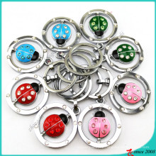 Wholesale Swing Coccinella Metal Keychain for Zoo Gift (KR16041911)