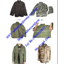 Army  M65 Jacket Camouflage Parka Jacket Combat Jacket Flight Jacket M65 Winter Coat