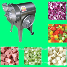 vegetable dicer/automatic cube cutting /chipping /potato dicing machine