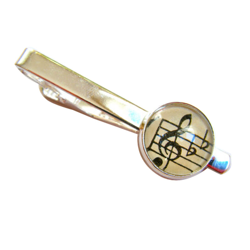 Vintage Music Tie Clip For Men