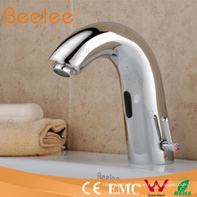 High-End Brass Automatic Sensor Faucet Tap with Hot Cold Water