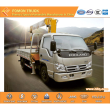FOTON 4*2 truck with mounted crane 2tons