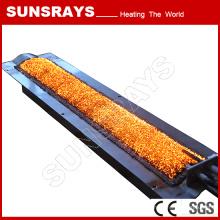 Calentador de fibra de metal de calor de venta directa de la fábrica para la calefacción industrial