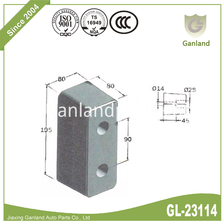 rubber buffering GL-23114