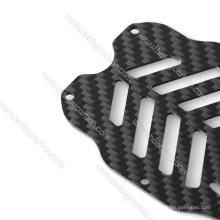 Feuilles adaptées de Kevlar de fibre de carbone de commande numérique par ordinateur adaptées aux besoins du client pour les cadres adaptés aux besoins du client
