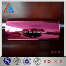 colored plastic film for Christmas gift wrap packaging