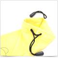 Custom Printed Microfiber Drawstring Bag for Phone