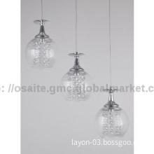 2014 modern glass LED pendant  lamp