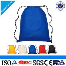 Sublimação promocional Nylon Drawstring bag Sport Drawstring Bag
