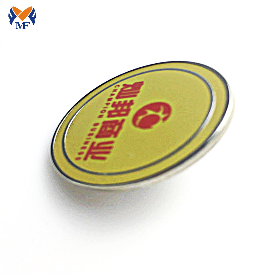 Metal Epoxy Badge