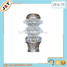 Aluminium Duschvorhang Stange mit selektiven Glas Finials