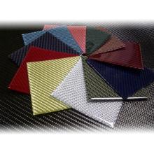 Colorful Carbon Fiber Sheet