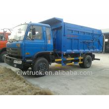 Dongfeng 145 hydaulic 15cbm camión de basura, 4x2 Libia dump camión de basura para la venta