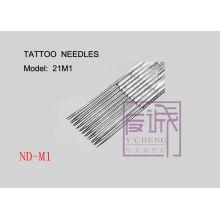 50 Pack Aiguilles de tatouage stériles pré-fabriquées sur bar / Magnum Needles