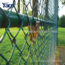 2017hengshui 50*50mm 60*60 mm 75*75mm mesh opening chain link fence prices factory directly, used chain link fence for sale