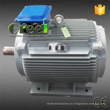 Generador de imán permanente para viento y proyecto hidroeléctrico
