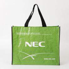 Bolsos de compras tejidos PP personalizados con logotipo