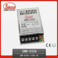 20W 5V2a 12V0.5A Ultra-Thin Dual Output Swtiching Power Supply