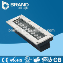 High Brightness 9W Rectangle LED Inground Light,CE RoHS