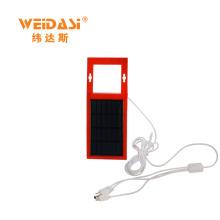 carregador de painel solar de dobramento multi-função para eletrodomésticos de pequeno porte