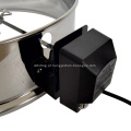 22,5 '' aço inoxidável carvão churrasco rotisserie anel