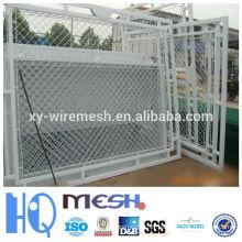 Clôture de maillon de chaîne utilisée pour le grillage de jardin en fer / prix de facotory)