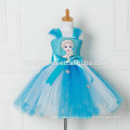 Tulle Tutu Dress Princess Dress Snow Queen Halloween Party Vestidos Cosplay Costume Girl Dress Summer Girls Clothes