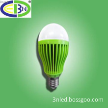 led Global bulbs 6w in various color lamp covers in unique shape