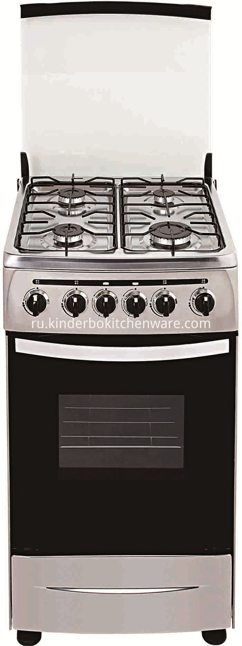 Electric Stove Big Burner Gas Stove 4 Burner Gas Stove with Oven