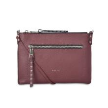 Настоящая стильная сумка через плечо для женщин