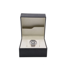 Customized Logo And Size Luxury Wooden MDF+PU leather Watch Box Watch Case