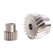 High Precision Steel Spur Master Gear with Hub